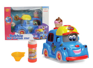 Battery Operated Bubble Toy Car with Flashing Light (H0234084) pictures & photos