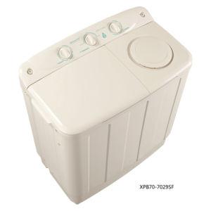 7.0kg Twin-Tub Top-Loading Washing Machine for Qishuai Model XPB70-7029SF pictures & photos