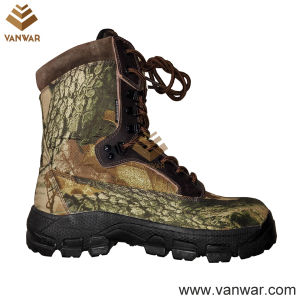 Waterproof Canvas Military Camouflage Hunting Boots (WHB010) pictures & photos