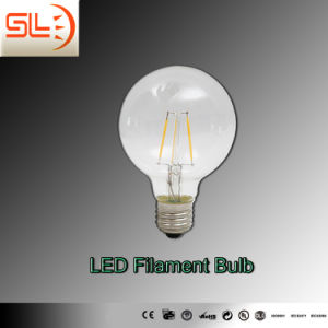 G80 E27 LED Filament Bulb Light with CE EMC pictures & photos