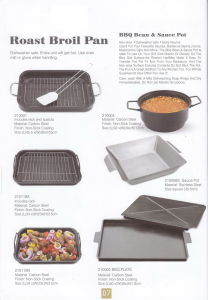 Non-Stick BBQ Roast Broil Pan pictures & photos