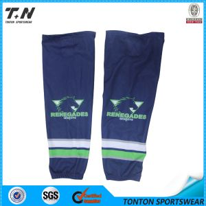Sublimation Ice Hockey Socks with Custom Design pictures & photos