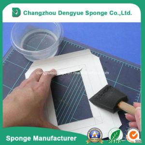 New Style Plastic Handle Wholesale Artist Paint Brush Sponge pictures & photos