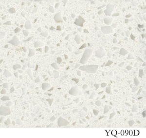 Hot Sell White Quartz for Countertop (YQ-090D) pictures & photos