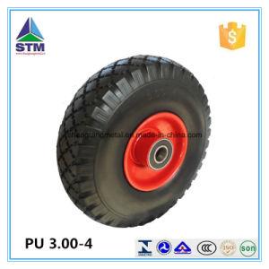 Black PU Wheel pictures & photos