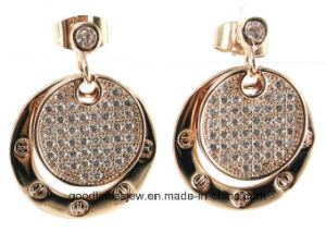 Top Quality 925 Sterling Silver Fashion Jewelry Women Earring (E6412) pictures & photos