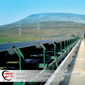 Long Conveying Distance Flat Dt75 Fixed Belt Conveyor pictures & photos