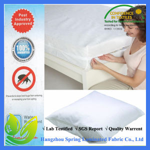 Bed Bug Proof Encasement Breathable Dust Mite Proof Mattress Protector pictures & photos