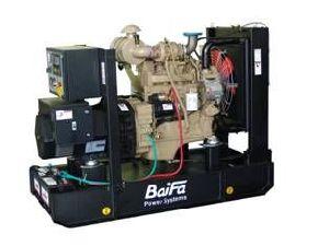 Bf-C40-60 Baifa Cummins Series 40kVA Open Type Diesel Generator