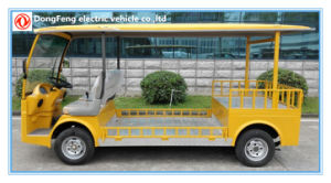 Chinese 2 Seater Electric Low Chassis Truck with CE Certificate pictures & photos