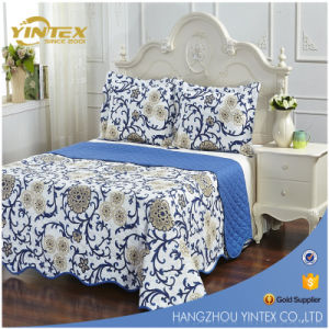 Great Gift High Quality Microfiber Printed Flower Bed Sheets Sets pictures & photos