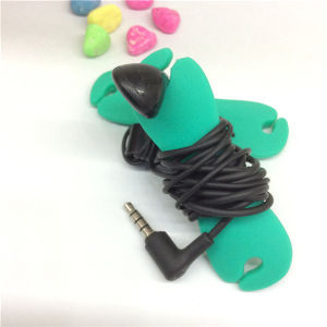 Fashion Headphones Wrap Customize Silicone Bobbin Winder pictures & photos