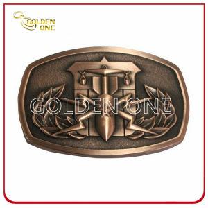 Creative Antique Copper Plated 3D Metal Belt Buckle pictures & photos
