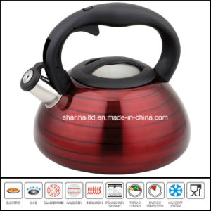 Nylon Handle Color Coated Water Kettle pictures & photos