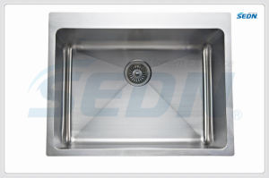 Handmade Single Bowl Stainless Steel Sinks (SE1004) pictures & photos