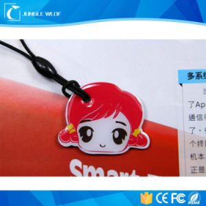 Customized 125kHz 13.56MHz Waterproof RFID Nfc Reward Key Fobs pictures & photos