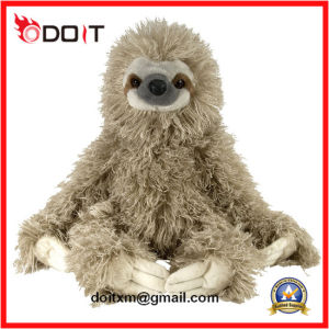 Custom Fur Cuddlekin Toed Sloth Plush Stuffed Dog Pet Toys pictures & photos