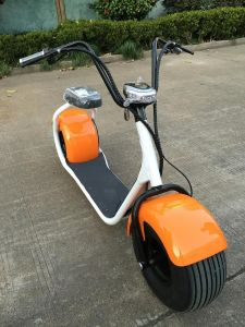 2 Wheel Electric Motor Car with Beach Big Wheel pictures & photos