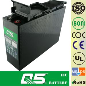12V100AH Front Access Terminal AGM VRLA UPS EPS Battery Telecom Battery Communication Battery Power Cabinet Battery Telecommunication Projects Deep Cycle pictures & photos