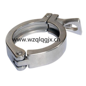Sanitary Stainless Steel Pipe Fitting Tri Clover Clamp pictures & photos