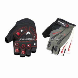 Cycling Half Finger Sports Bike Bicycle Cycle Sports Equipment Glove pictures & photos