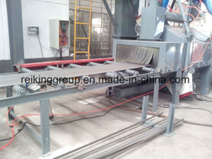Steel Plate Screw Conveyor Type Shot Blasting Machine pictures & photos