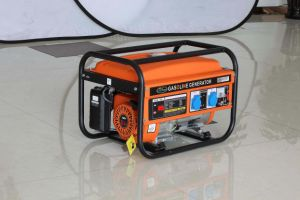 100% Copper Wire 2kw Portable Power Industrial Gasoline Generator pictures & photos