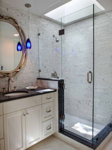 Tempered Glass Shower Enclosure Bathroom Shower pictures & photos