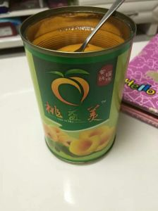 820g Canned Yellow Peaches in Syrup in Halves/Dice/Slice pictures & photos