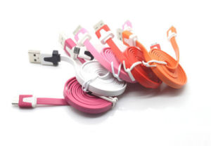 2015 Wholesale 1m Noodle Micro USB 2.0 Cable (LCCB-064) pictures & photos