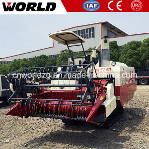 Track Type Wheat Harvester with 4kg/S Capacity pictures & photos