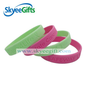 Various Styles Custom Silicone Wristbands pictures & photos