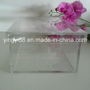 Custom Top Quality Clear Acrylic Shoe Display Box pictures & photos