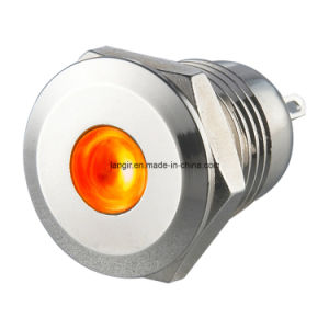 P12 12mm Nickel Plated Brass DOT Illumination Indicator (P12) pictures & photos