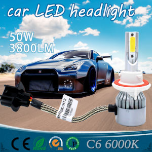 Auto Parts LED Headlight with LED Light and Car LED Work Light (H4 H3 9005 9004 H13 H7 4500lm) pictures & photos