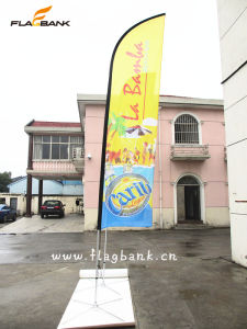 4.5m Exhibition Aluminium Digital Printing Feather Flag/Flying Flag/Beach Flag pictures & photos