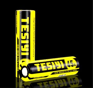 3.7V 3000mAh/45A Tesiyi 18650 Battery for Vape pictures & photos