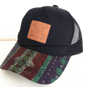 Washed Contrast Stitches Binding Embroidery Sport Baseball Cap pictures & photos