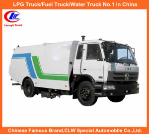 Dongfeng Street Sweeping Truck in Cummins Runway Sweeper & Road Cleaning pictures & photos