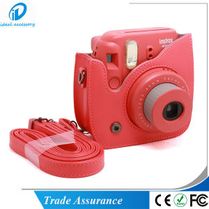 Fujifilm Instax Camera PU Leather Mini8 Plus Bag Case pictures & photos