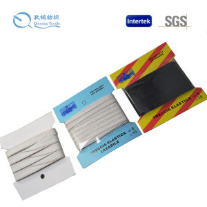 New Design High Quality Customized Both Side Pattern Woven Elastic Tape pictures & photos