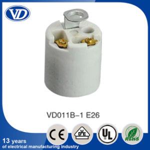 Porcelain E26 Socket with Bracket Holder pictures & photos