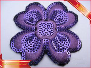 Paillette Patch Applique Sequin Embroidered Sew-on Applique pictures & photos