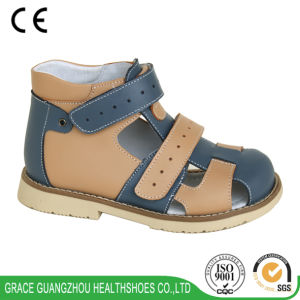 Grace Ortho Children Cute Orthopaedic Shoes (4611359-3) pictures & photos