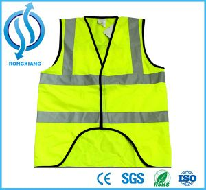 Factory Hot Sale Emergency Reflective Yellow Safety Vest pictures & photos