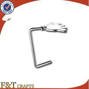 Cheap Custom Blank Nickel Metal Bag Purse Hanger Hook (FTBH9211J) pictures & photos