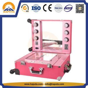 Aluminum Studio Cosmetic Case with LED Light (HB-6501) pictures & photos