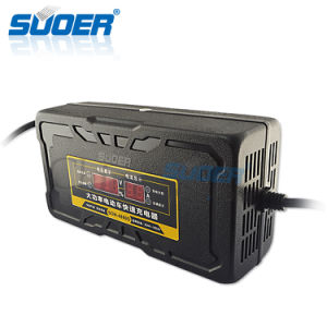 Suoer 48 Volt 8.9A Fast Smart Car Battery Charger for Electric Vehicle (SON-4880D) pictures & photos