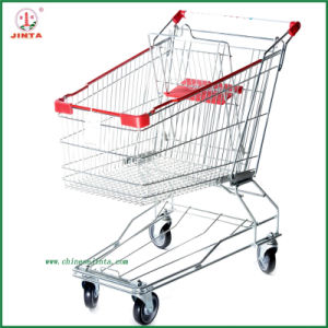 Factory Direct Supermarket Shopping Trolley (JT-ED-12) pictures & photos