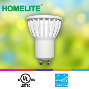 LED GU10 6W 3000k Dimmable with Es/UL Listed